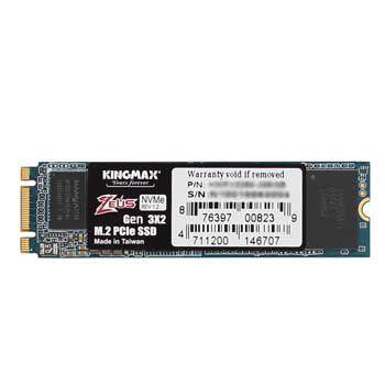 1TB KINGMAX PX 3280 Zeus (M.2, PCIe Gen3 x2 (16Gb/s)