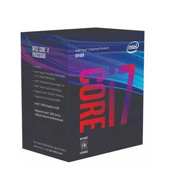 Intel Coffee Lake i7 9700 (3.0GHz) Chỉ hỗ trợ Windows 10