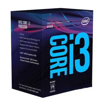 Intel Coffee lake i3 9100 (3.6GHz) Chỉ hỗ trợ Windows 10