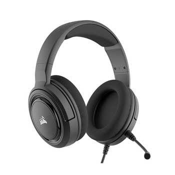 HEADPHONE CorsairHS35 Stereo Carbon