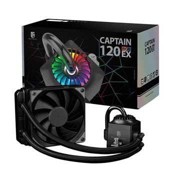Fan DEEPCOOL CAPTAIN 120EX RGB (Tản nhiệt nước)