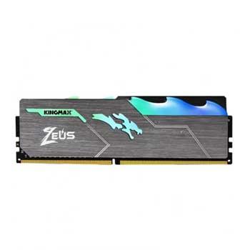 16GB DDRAM 4 3600 KINGMAX HEATSINK Zeus RGB (Tản nhiệt có đèn led)