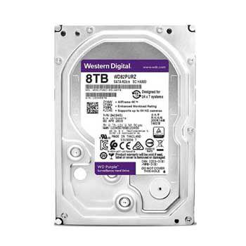 8Tb WESTERN SATA III(3) Purple - WD84PURZ