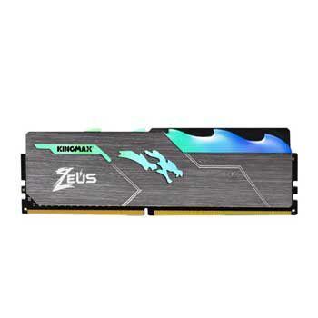 16GB DDRAM 4 3000 KINGMAX HEATSINK Zeus RGB (Tản nhiệt có đèn led)