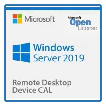 Windows Remote Desktop Services CAL 2019 SNGL OLP NL DvcCAL 6VC-03747